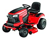 Craftsman E225 42-in. Lithium-Ion Riding Mower-56V Electric Powered Lawn Mower-Fast Charging, Red