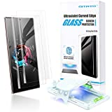 QITAYO Glass Screen Protector Compatible with Galaxy Note 20 Ultra, [High-end Series] Full 3D Curved Edge Tempered Glass Compatible with UltraSonic FingerPrint Scanner for Samsung Galaxy Note 20 Ultra (2 Pack)