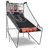 COSTWAY Basketballkorb Basketballständer Basketball Automat Basketballspiel Schießmaschine...