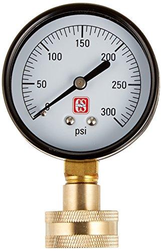 Eastman 45169 Water Pressure Test Gauge, Silver