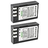 Kastar 2 Packs EN-EL9 Compatible Battery Replacement for Nikon EN-EL9, EN-EL9a, EN-EL9e Batteries and Nikon D40, D40x, D60, D5000, D3000 Cameras, Nikon MH-23 Charger