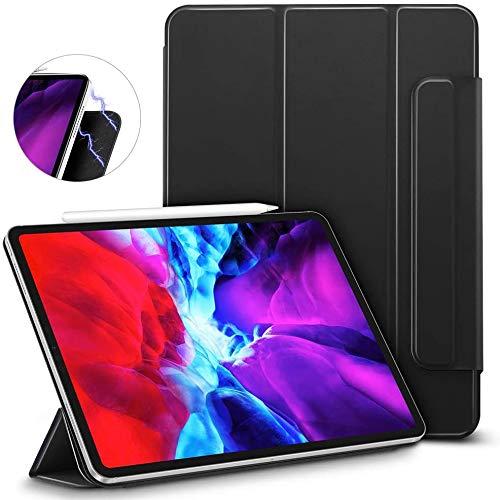 Capa iPad Pro 12.9″ 4a Geração WB - Magnética Ultra Slim Com Alça Preta