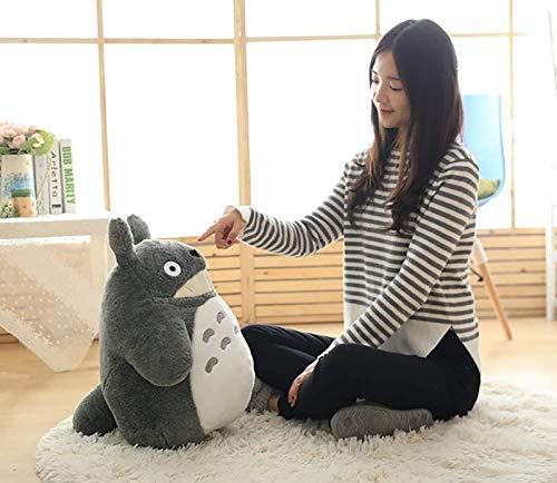 Totoro Bebe Suave y Seguro, Grande Lindo Totoro Felpa Jumbo Gigante Grande Animales Peluche muñeca Suave Almohada cojín cumpleaños Regalo Vacaciones,B,40cm
