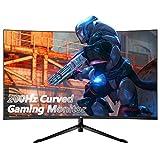 Z-Edge UG32F 32-inch Curved Gaming Monitor 16:9 1920x1080 200Hz Frameless LED Gaming Monitor, AMD...