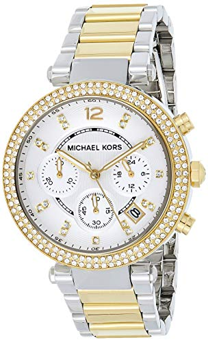 Relógio Michael Kors Mk5626 Parker Aço/Gold 39Mm