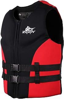 Chaleco de Natación Unisexo Adulto - Hombre Mujer Chaleco de Flotador Chaleco de Neopreno Protección contra Colisión Mejor para el Surf Kayak