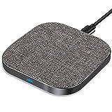 Yarrashop Fast Wireless Charger Induktive Qi Ladestation Kabelloses Induktions ladegerät für...
