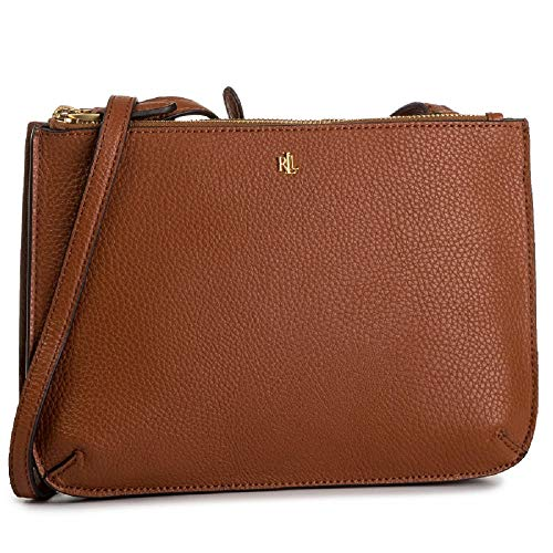 LAUREN RALPH LAUREN MERRIMACK CARTER CROSSBODY-MEDIUM Schoudertassen dames Cognac - One size - Schoudertassen met riem