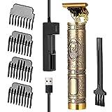 Keifen de pelo con batería, de pelo USB profesional para hombres, máquina de corte de pelo potente eléctrica recargable, herramienta de talla