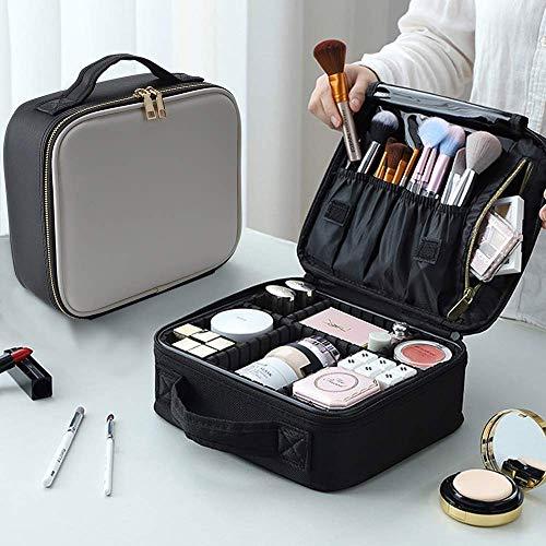 Maquillage de train Malette de maquillage de cas de maquillage Voyage Sac Organisateur Mini train Case Maquilleur Organisateur Sac de rangement portable Sac multi-usages, Maquillage Voyage Boîtier éta