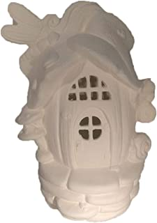 Dragonfly Pumpkin Hollow Fairy House 8 1/2
