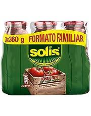 12221651 Solís Tomate frito - Paquete de 3 x 360 gr - Total: 1080 gr - [Pack de 5]