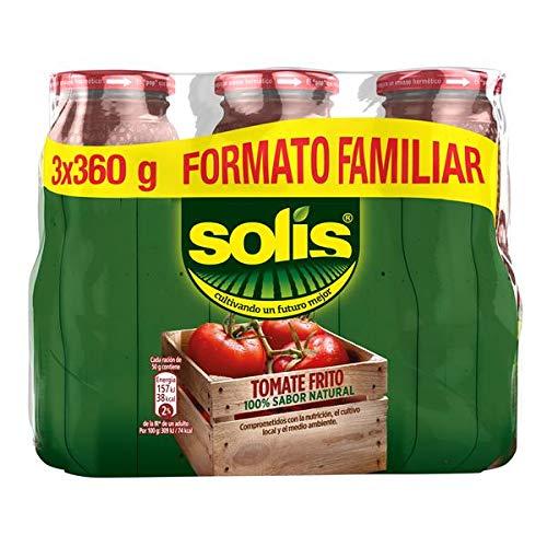 Solís Tomate Frito, Paquete de 3 x 360g