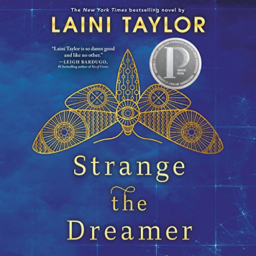 Strange the Dreamer cover art