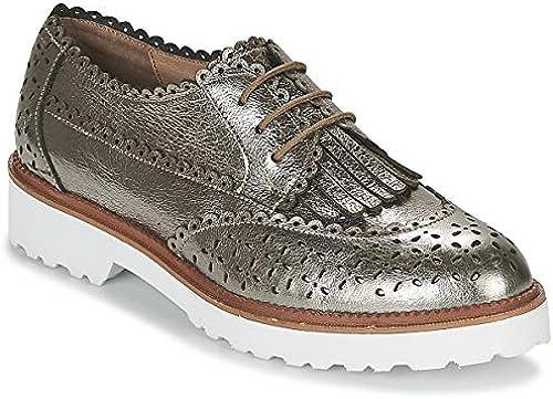 Mam& 039;zelle Rosaau Derby-Schuhe & Richelieu Damen Silbern Derby-Schuhe