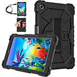 JSUSOU for LG gpad 5 10.1 Case   Heavy Duty Rugged Case with Hand Strap &...