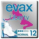 Evax Liberty - Compresas con alas - Creadas con flexicel Super - 10+1 unidades