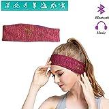 YOJOLO Wireless Bluetooth Headband,Workout Headbands Bluetooth Sleep Headphones Sweat Wicking Non Slip Headwraps