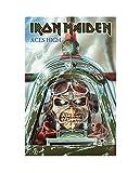 Iron Maiden Poster Textile Aces High Band Logo Nue