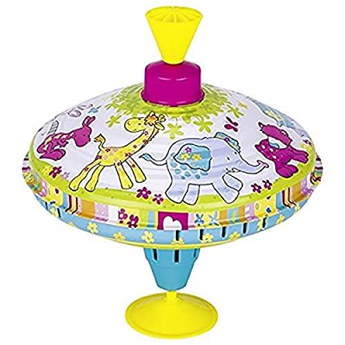 Goki- Juegos de Viaje Y de Bolsillo Novedades En Peonzas, Multicolor (53835)