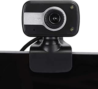 Computer Camera Online Class Camera, 12 MP Up and Down 30° Rotatable Autofocu 720P Camera for Laptops and Desktops Built-in Microphone Camera for Video Conferencing