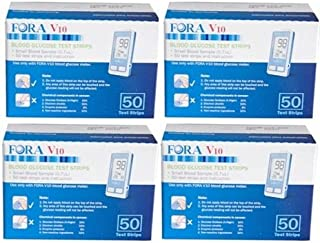 Fora V10 Test Strips 200 Ct