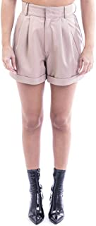 MANOKHI Luxury Fashion Womens A0000111NUDE Pink Shorts | Fall Winter 19