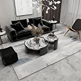 Kunsen tapetes para Sala Diseño Simple amarino Beige Gris Pelo Corto Alfombra Grande 100X160cm