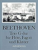 BEETHOVEN - Trio (WoO37) en Sol Mayor para Flauta, Fagot (Violoncello) y Piano (Partitura/Partes)