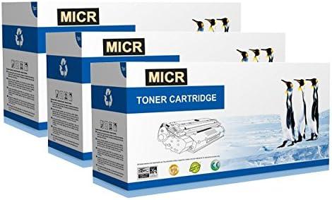 Supply Spot offers 3 PK Compatible MICR Q7551X Black Toner for LaserJet P3005 M3035 M3027 Printers product image
