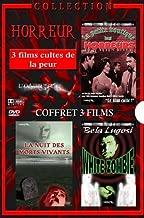 Coffret horreur : la petite boutique des horreurs / lal nuit des morts-vivants / white zombie
