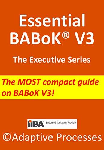 Essential BABoK V3 - Executive series