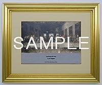 大塚国際美術館 陶板 額装品A 「最後の晩餐《修復前》」 レオナルド・ダ・ヴィンチ 絵 プレート