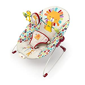 Bright Starts Playful Pinwheels Bouncer with Vibrating Seat by Bright Starts