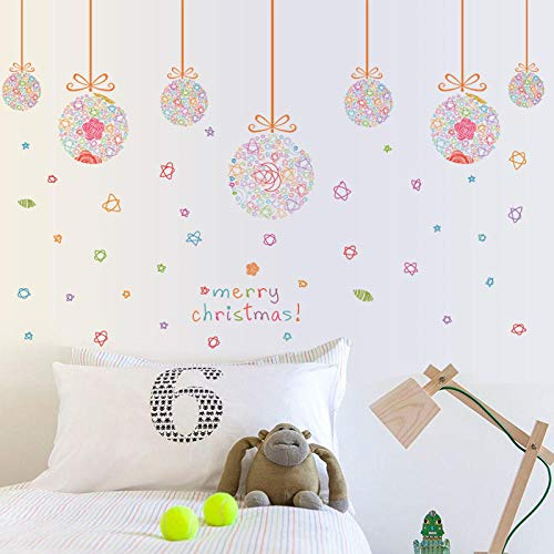 CWART Home Soggiorno Decorazioni camera da letto Palle di Natale che pendono palla 60 * 90 cm