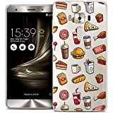 Case for 5.7 Inch Asus Zenfone 3 Deluxe, Ultra Slim Foodie