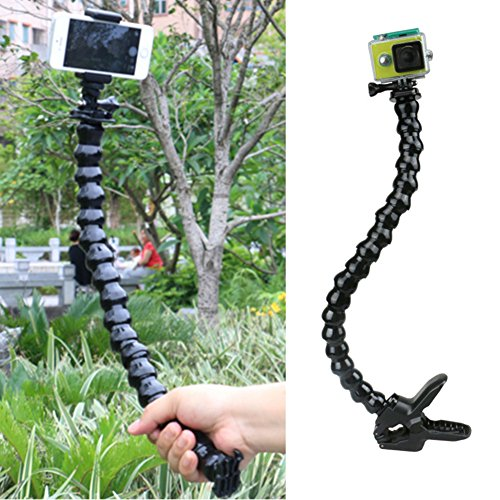Adjustable Holder Mounting Neck Flexible Support Soft Pipe for Gopro Hero 1/2/3/3+/4 for SJ 4000/5000/6000 Sports Camera