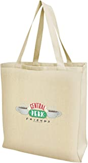 Friends Central Perk Logo Grocery Travel Reusable Tote Bag - Large