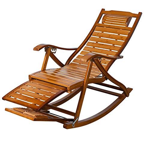 Lw yychair Silla Mecedora Silla Mecedora de jardín, Silla de relajación de Patio Silla de Descanso...