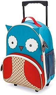 Skip Hop Zoo Kid Rolling Luggage, Owl