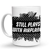 Makoroni - STILL PLAYS WITH AIRPLANES 6 oz Ceramic Espresso Shot Mug/Cup Design#43