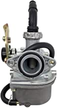 KDSG PZ19 Carburetor with Cable Choke for 50cc 70cc 90cc 100cc 110cc 125cc 4 Stroke ATV Moped Quad Dirt Bike Pocket Bike Go Kart Scooter Taotao ATK125A GK110 SUNL Coolster Redcat Baja Roketa Kazuma
