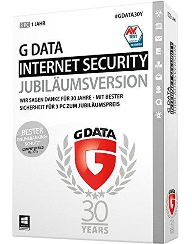 G Data Internet Security 2015 | 3PC | 1 Jahr | Jubiläumsversion