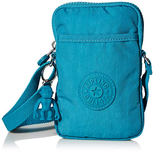 Kipling Women's Tally Crossbody, Turquiose Sea, Mini US
