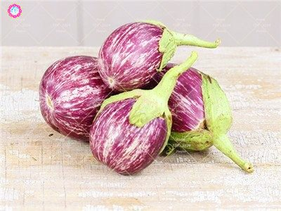 100pcs rond noir Aubergine Graines semences de légumes Heirloom biologique Plantes non-OGM pour le jardin bon goût riche en vitamines 4