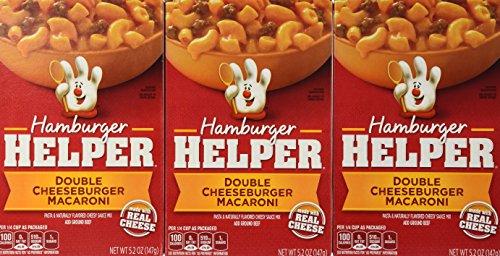 Hamburger Helper Double Cheeseburger Macaroni 5.2 Oz. (Pack of 6)