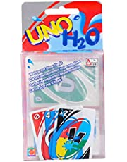 G'SOUL UNO Card Game Table Games 108 Cards PVC Waterproof Clear Cards