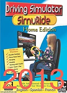 Driving Simulation and Road Rules Test Preparation - 2013 SimuRide Home Edition - Driver Education [Interactive DVD] by Aplusb Software Corporation by 7, Vista and XP (32 & 64) Windows 8