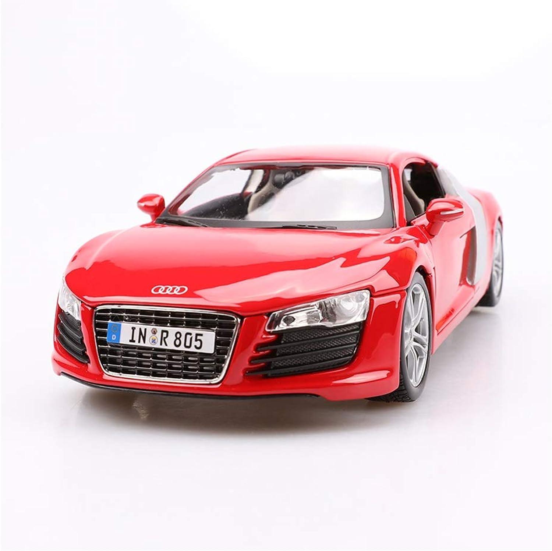 LINGLING Simulation Legierung Sportwagen Geschwindigkeit Und Leidenschaft 7 Auto Original Toy Car Collection Audi R8 Rot ( Farbe   rot )