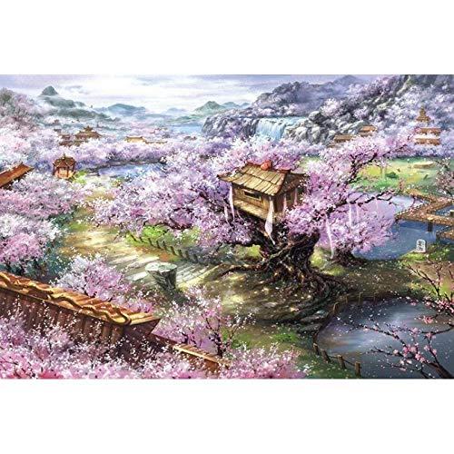 Plat Gecoat Puzzel 1000 Volwassen Puzzel Super Grote Super Moeilijke Decompressie Complex hoge Moeilijkheid Kinderen Puzzel Spelen Fluorescerend Groen